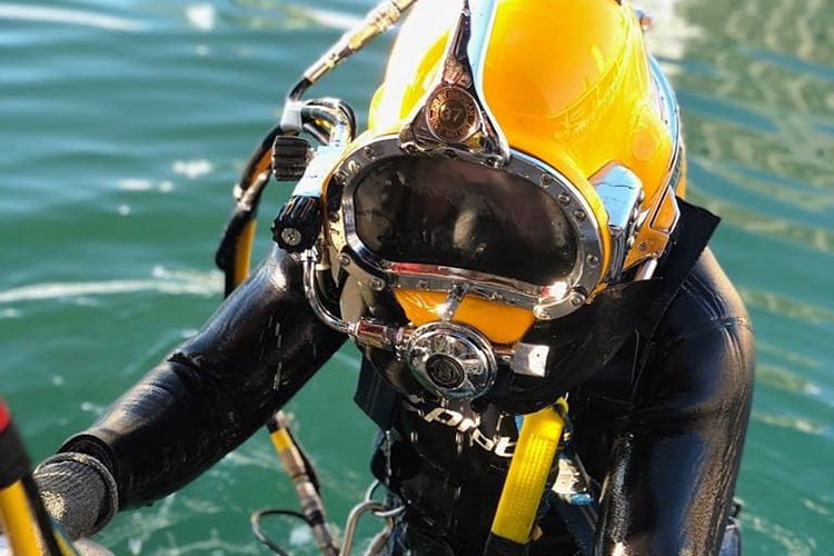 Underwater Inspections Sea Service