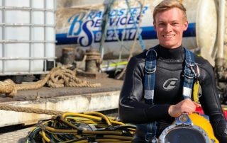 Sea Service Diving and Marine senior diver