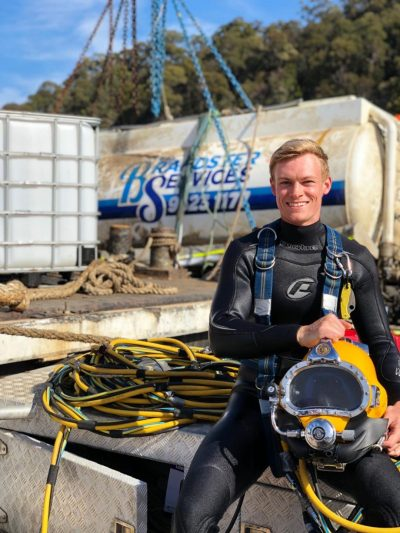 Sea Service Diving and Marine senior diver