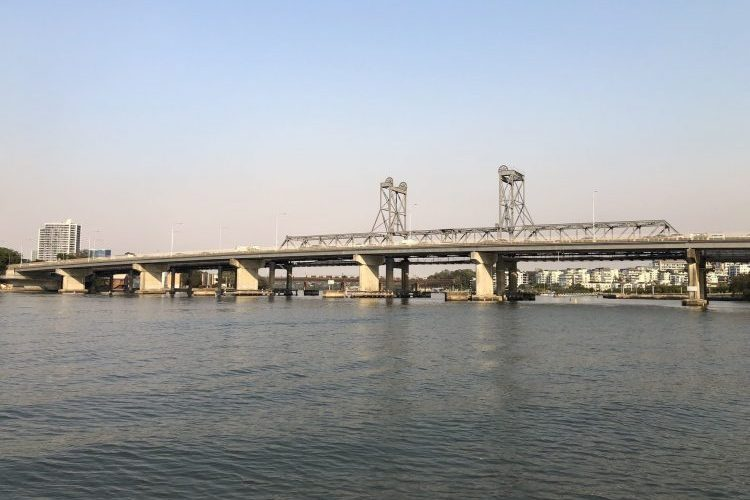 A bridge Sea Service Diving and Marine have completed an underwater survey for